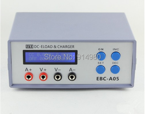EBC-A05 electronic load (mobile power, battery capacity test, 5V output, computer on-line) Battery Tester Battery Testing Power battery capacity testing electronic load nicd and nimh mobile power supply tester tec 06 lithium battery