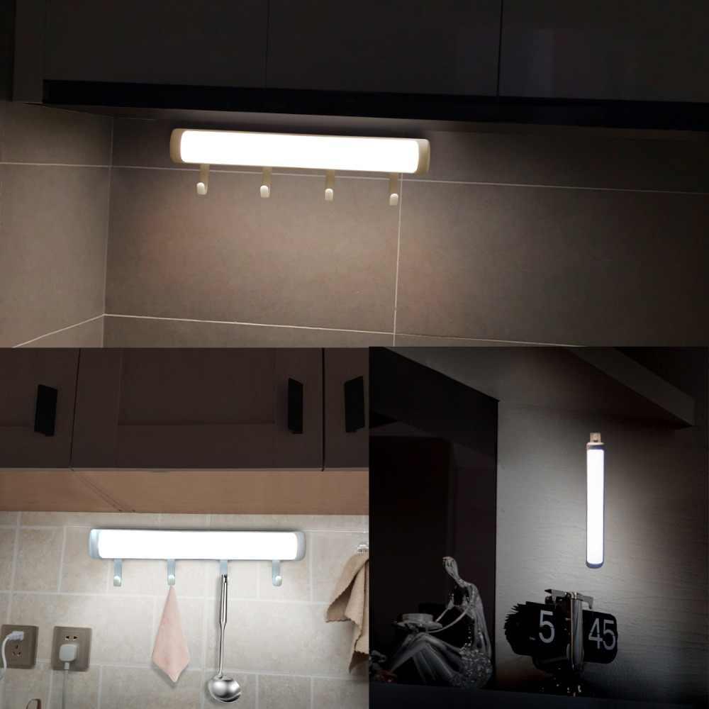 Led キャビネットライト pir モーションセンサベッドランプバッテリ駆動ヒンジワードローブクローゼット用階段ナイトライト