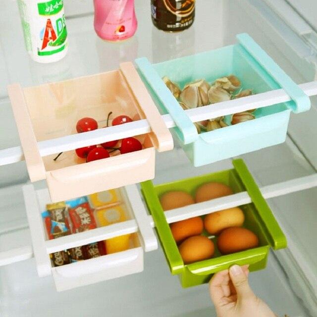 DIY Küche Kühlschrank Space Saver Organizer Rutsche Regal Rack ...
