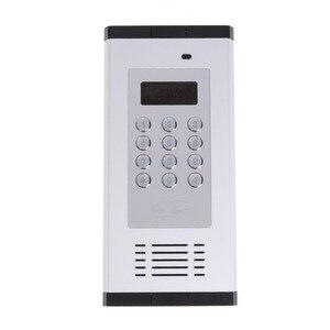 Image 1 - Gsm Afstandsbediening Toegang Systeem Appartement Intercom Deur Poort Open Door Gratis Call Lcd scherm Toetsenbord Ondersteunt 1000 Gebruikers