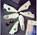 2017 мода дышащая повседневная обувь женщины белые парусиновые туфли весной и летом обувь одного