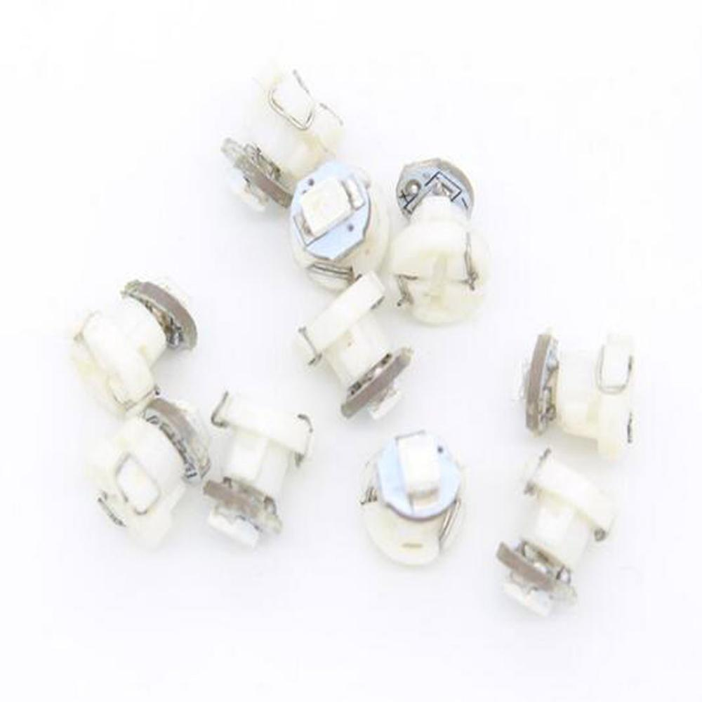 1X <font><b>T3</b></font> 1 SMD car <font><b>12v</b></font> Neo Wedge LED Bulb Cluster Instrument Dash Climate Base Light auto led xenon white image