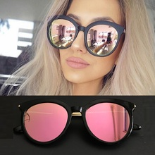 Women's Round Style Fashion Sunglasses