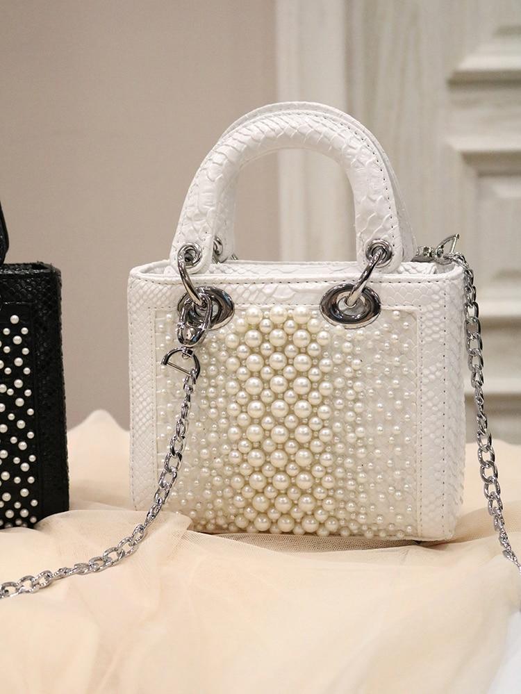 qualidade designer de luxo bolsa crocodilo padrão