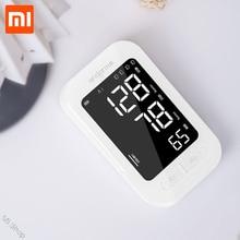 Xiaomi Mijia Andon akıllı kan basıncı monitörü kol kalp yendi hızı darbe ölçer tonometre tansiyon aleti Pulsometer