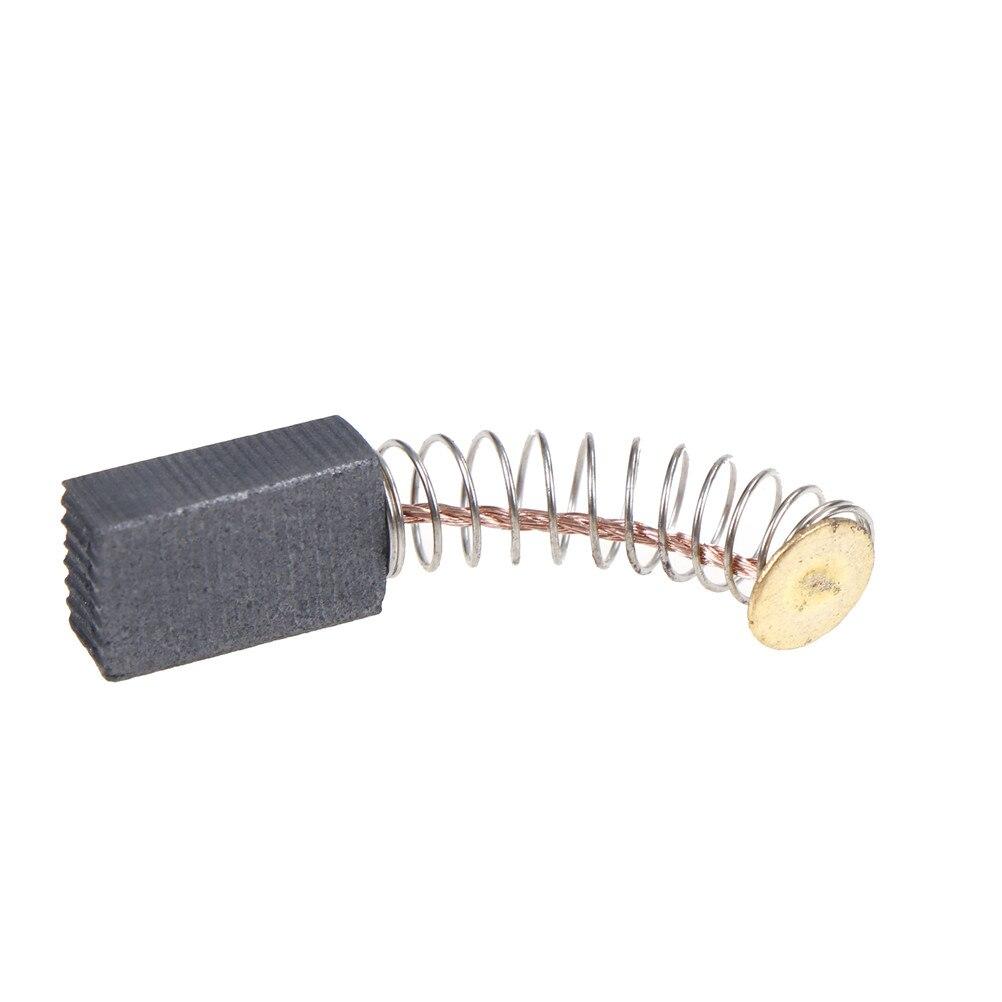 Купить с кэшбэком 10pcs  Power Tool Carbon Motor Brush 13 x 8 x 5mm