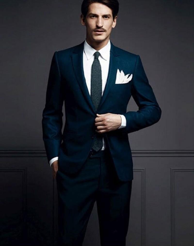 The latest version of the gun collar/groom suit dress/best man suit ...