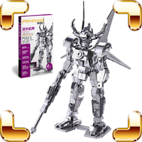 Christmas Gift Spirit Bull 3D Metal Model Robot Assembly DIY Toys For Pro Fans Collection IQ