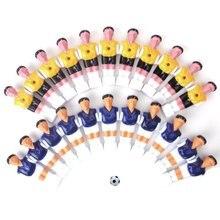 22pcs font b Football b font Man Table Guys Man Soccer Player Part Yellow Royal Blue