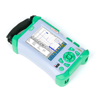 FTTH KOMSHINE QX50 P2 PON OTDR Power Meter Tester 1310/1550+1625nm 32/30/28dB OTDR Cable Tester