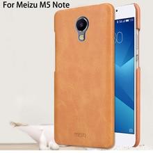 Meizu m5 note case mofi couverture arrière pour meizu m5 note coque funda pu en cuir dur cas 5.5″