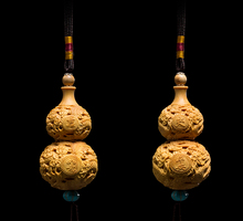 FengShui Pendant Car Hanging Accessories Gourd Pendant sculpture decoration accessories Rear View Camera For Security And Peace
