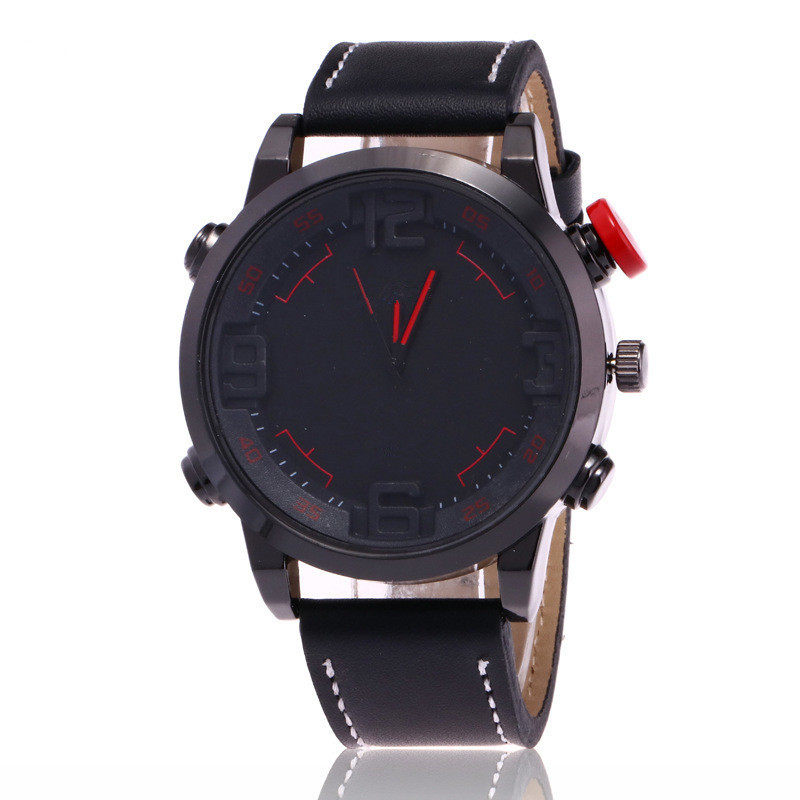 Large Dial Watch Men Top Brand Luxury Wristwatch Male Clock Quartz Watch Relogio Masculino Mens sports Watches Relogio Masculino ot01 watches men luxury top brand new fashion men s big dial designer quartz watch male wristwatch relogio masculino relojes