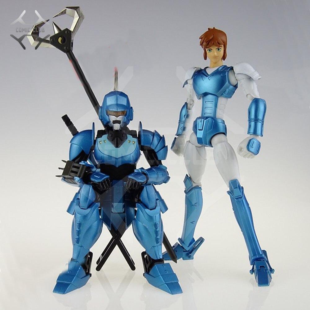 COMIC CLUB INSTOCK HITOY model Ronin Warriors YoroiDen Samurai Troopers Shin Mouri Metal Cloth Armor Plus