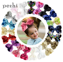 Sequins Bowknot Headwear DIY Headdress Sequined Bow Fishtail Knot Headbands Hairpins Headpieces Girls Hair Accessories