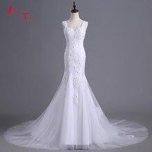 Jark Tozr 2019 Backless Mermaid Wedding Dresses