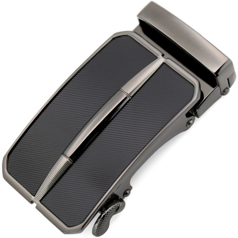 Fashion Men's Business Alloy Automatic Buckle Unique Men Plaque Belt Buckles For 3.5cm Ratchet Men Apparel Accessories LY11301