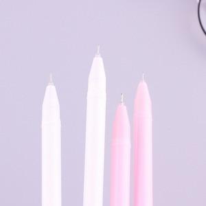 Image 4 - 40 pcs סיטונאי קריקטורה פלמינגו ניטראלי עט קוריאני מכתבים Creative טרי סימן עט ג ל עטי מבחן תלמיד