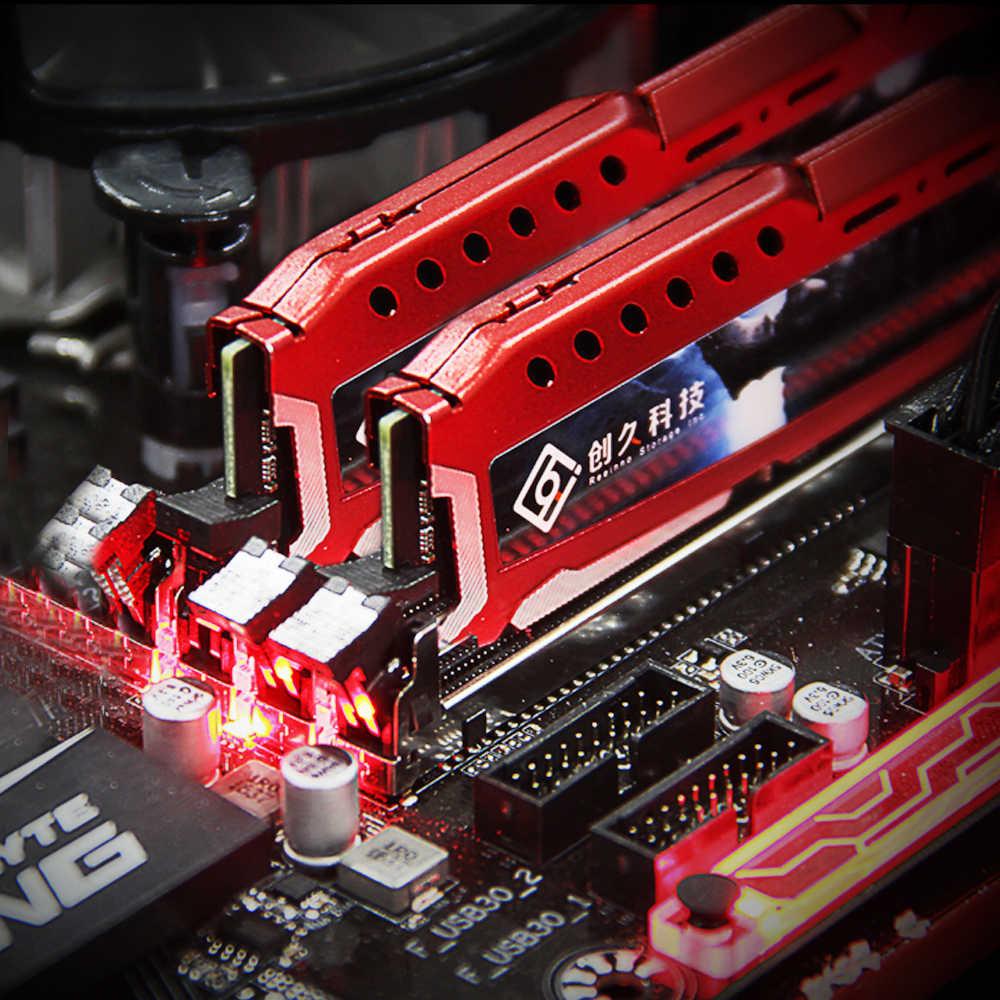 Reeinno RAM 4 GB/8 GB/16 GB DDR4 2400MHz 1.2V PC4-19200 17-17- 17-39 CL = 17 Loại Giao Diện 288pin đơn RAM Máy Tính Để Bàn Bộ Nhớ còn hàng