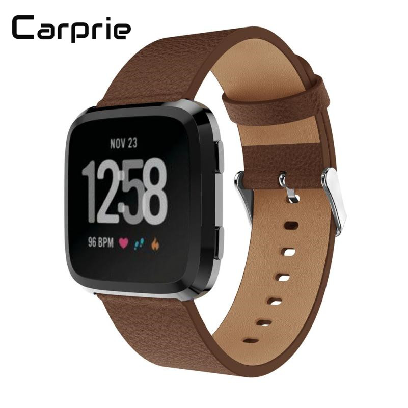 CARPRIE high quality New Luxury Leather Bands Replacement Accessories Wristband Straps For Fitbit Versa drop shipping mar28