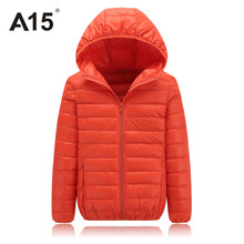 Winter Down Hooded Jacket