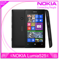 Original Nokia Lumia 525 Unlocked Nokia 525 Windows mobile phone dual core 4'' IPS 8GB 5.0MP one year warranty Free shipping