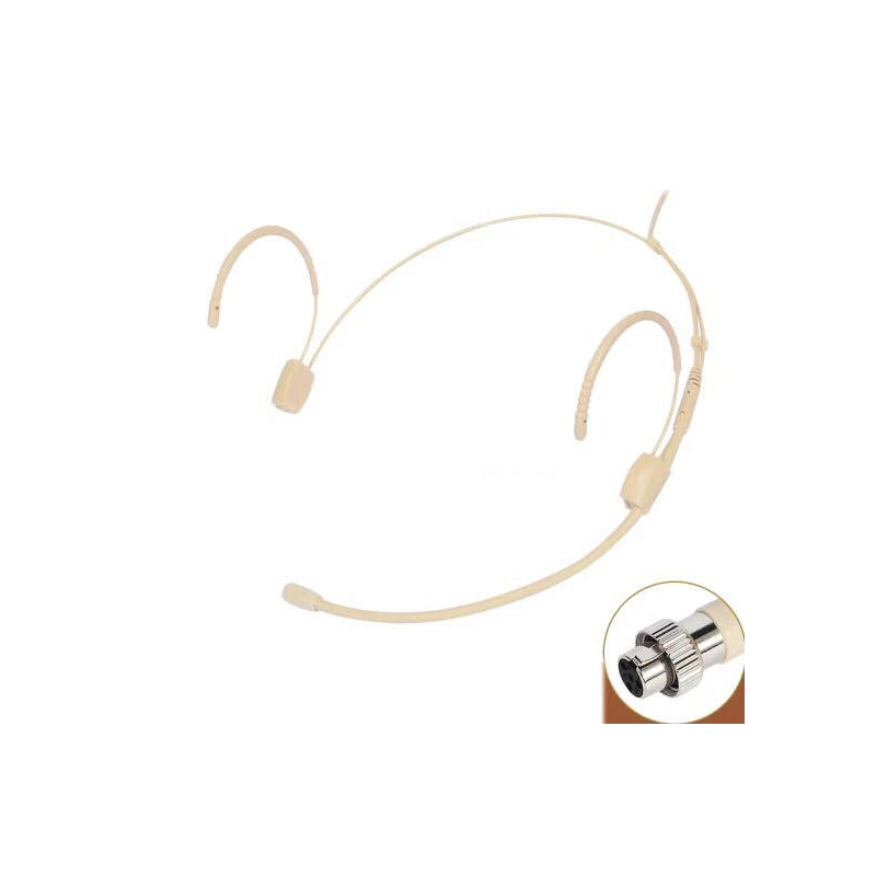 Wireless Microphone Invisible Beige for Shure Sennheiser AKG Audio Technica Samson 3 5mm Jack Lock MiCWL in Microphones from Consumer Electronics