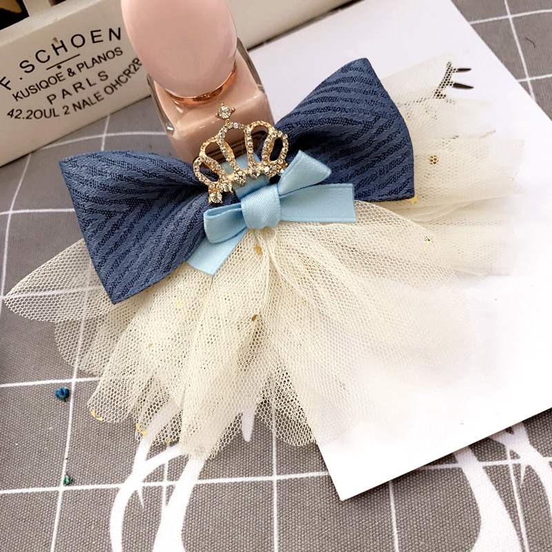 Girl's Accessories Apparel Accessories Buy Cheap Korea Lace Flower Crown Side Bangs Clip Hair Accessories Rim Hair Clips For Girls Hairpin Hair Bows Hairgrips