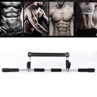 100kg Adjustable Door Horizontal Bar Exercise Workout Pull Up Training Bar Sport Home Exercise Fitness Equipment Gym Chin Up Bar