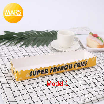 Long French Fries Paper Box Longest Potato Disposable Packing Box 100pcs/lot Packing Paper For Footlong Potato Fries Chips - Category 🛒 All Category