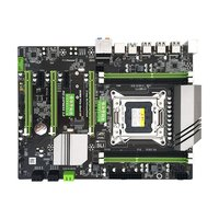X79 motherboard V4 version LGA2011 pin large heat sink Gigabit network card DDR3 m.2 high speed hard disk interface