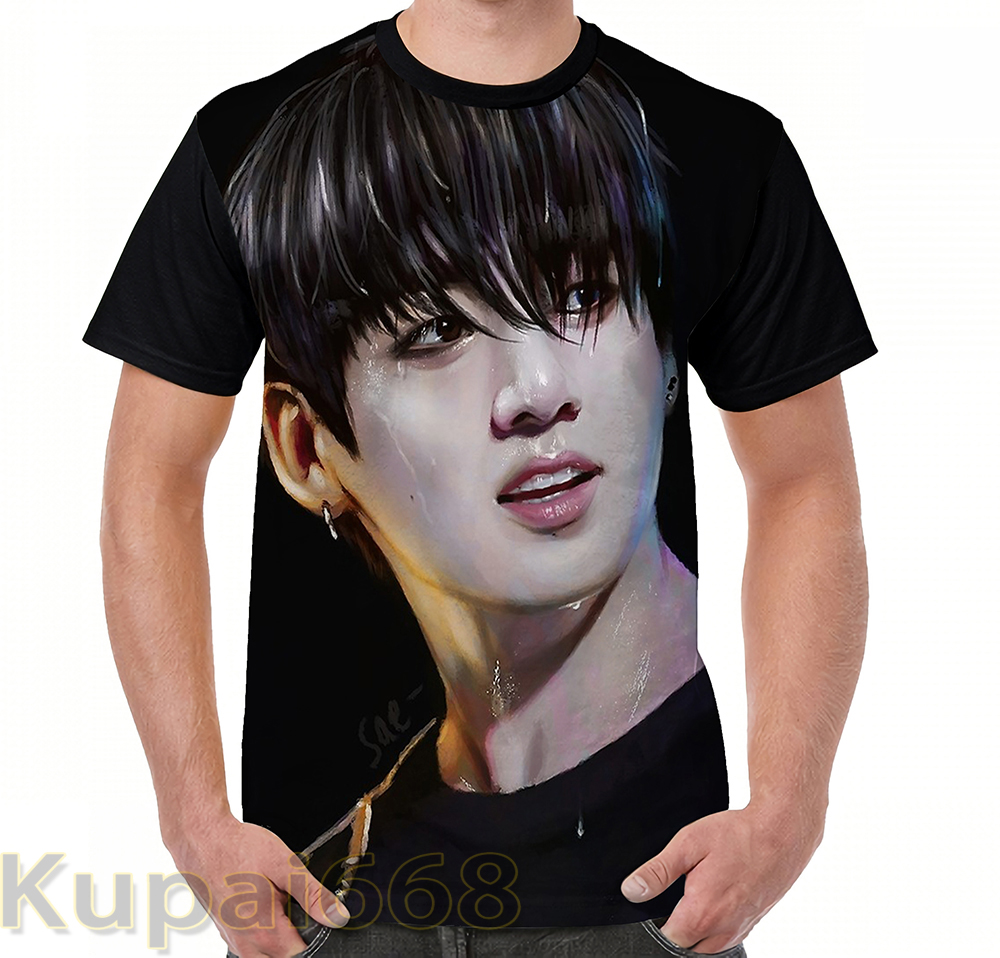 funny Graphic print t shirt men Tops tees Wet Hair women T-Shirt Short Sleeve Casual tshirts