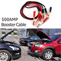 2016 New Emergency Battery Cables Car Auto Booster Cable Jumper Wire 2 Meters Length Booster 12V 500A