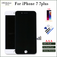 Mobymax For IPhone 7 7plus LCD Display Touch Screen Assembly Complete Replacement In Black White Factory