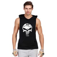 ONE A CAKE Brand Strength And High Quality Leisure Men Vest High Quality Brand Fitness Clothing