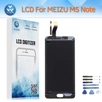 LCD Screen Replacement For Meizu M5 Note M621H M621Q M621M LCD Display Touch Digitizer Assembly Black