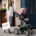 Carrinho de Bebê de luxo alta paisagem pode ser deitado two-way quatro-rodas amortecedor crianças carrinho de bebê carrinho de bebê