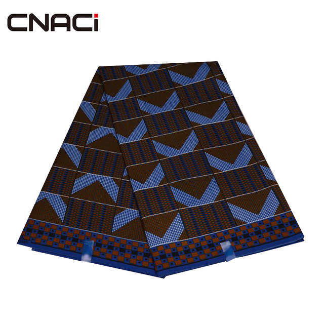 CNACI 2018 New African Fabric Ghana Kente 6 Yards Ghana Fabric African Fashion Kente Cloth Ghana Tissu Patchwork Free Shipping 3