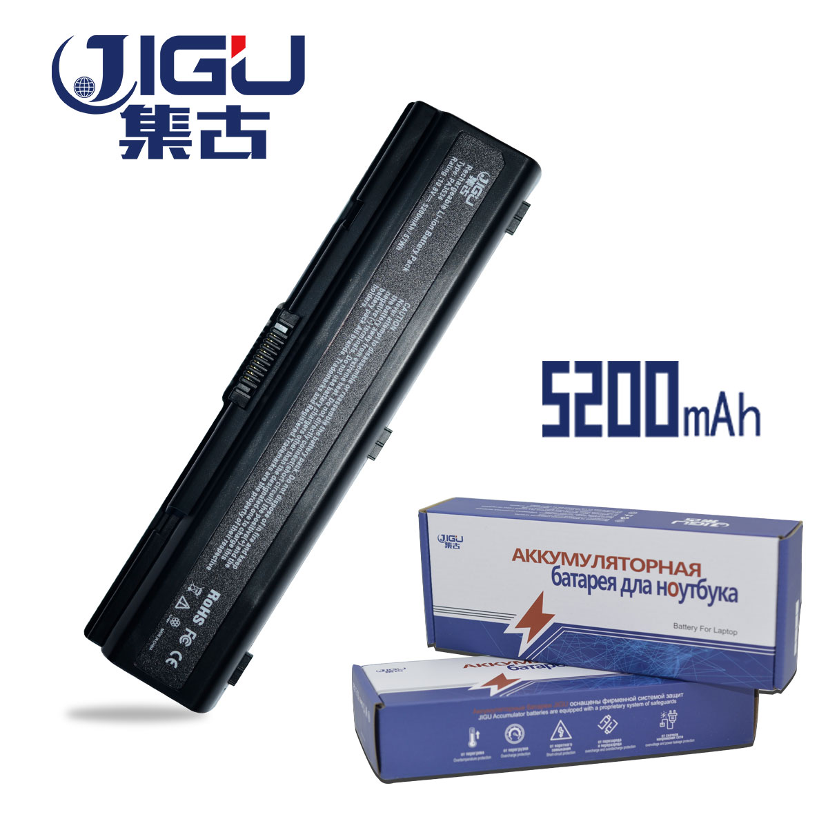 JIGU Laptop Battery For <font><b>Toshiba</b></font> Satellite A300 A500 Pro L550 L450 L300 A200 A210 A350 <font><b>L500</b></font> PA3534U-1BRS PA3535U-1BAS image