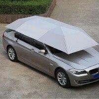 Автоматическая автомобильная палатка зонтик с пультом дистанционного управления складной Анти УФ автомобильный подвижный солнцезащитный