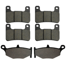 Front and Rear Brake Pads for Suzuki GSXR750 / GSXR600 06-10 GSXR1000 GSXR 1000 07-10 GSX1300R Hayabusa 1300 08-12 free shipping motocycle japan original ngk iridium spark plugs for suzuki gsr400 gsxr600 750 1000 1300 hayabusa 1300