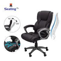 Seatingplus High Back Cadeira de Escritório Em Casa Cadeira Do Computador Cadeira de Couro Moderno e Ergonómico Ajustável com Assento Confortável