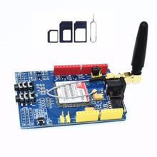 10 pces sim900 gprs/gsm escudo placa de desenvolvimento quad band módulo compatível