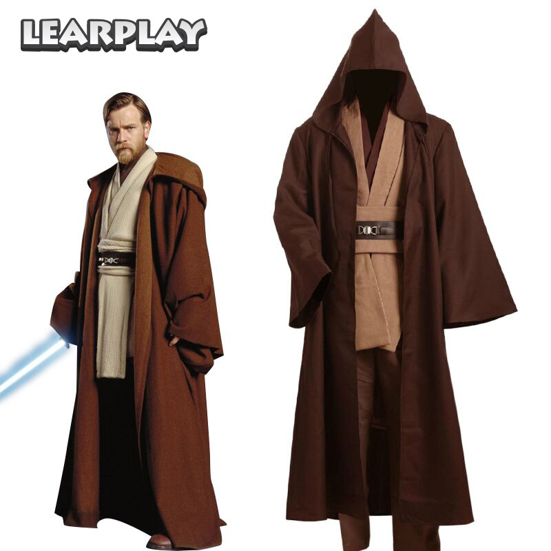 mens ...  sc 1 st  Google Sites & ?Star Wars Obi Wan Kenobi Jedi Tunic Cosplay Costume for Adult Kids ...