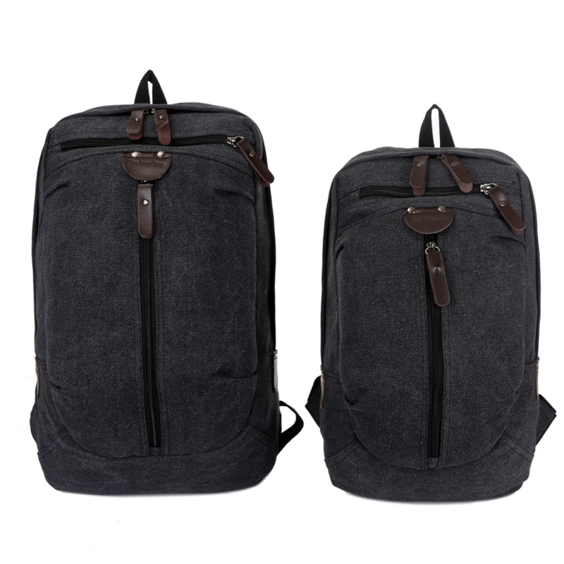 4c4eda39180f Large Vintage Canvas Travel Backpack Men Women Waterproof Fashion Male Laptop  Bag 13 15 inch Casual Female Backpack School 1274-in Backpacks from Luggage  ...