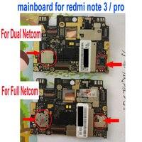 Global Firmware Original Unlock MainBoard For Xiaomi Redmi Note 3 Pro Prime Motherboard Circuits Fee Flex Cable Accessory Sets
