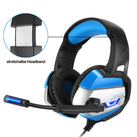 ONIKUMA K5 Gaming Headphone Deep Bass Game Headset With Noise Isolation Microphone LED Light For PS4