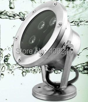 Led Lamps Genteel 2pcs/lot Bright 6x1w Led Underwater Flood Light Ip68 Waterproof Light Led Outdoor Pool Pond Lamp Light Dc12v Or 24v Or Ac85-265v To Help Digest Greasy Food Lights & Lighting