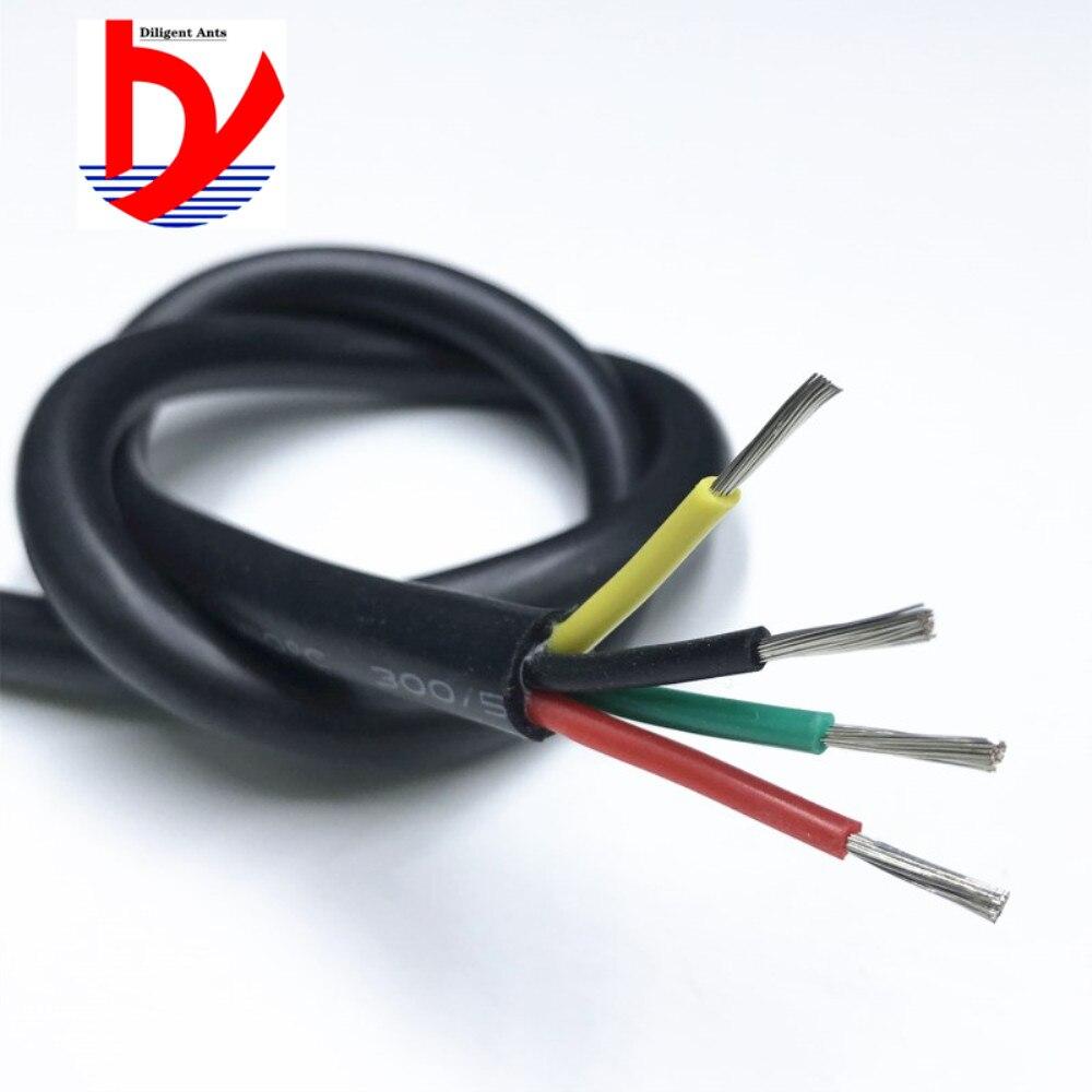 do cabo Multi-núcleo do fio de silicone