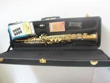 soprano saxophone  2018 high quality S-901 B soprano saxophone one sax straight free shipping